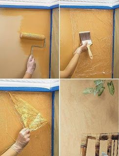 Pitturare Pareti Interne Fai Da Te.Effetto Venature Sulle Pareti Decorazioni Murali Fai Da Te
