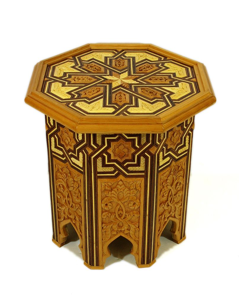 Mediterranean living room los angeles by badia design inc - Badia Design Inc Store Hand Carved Wood Side Table Cw St001 680 00