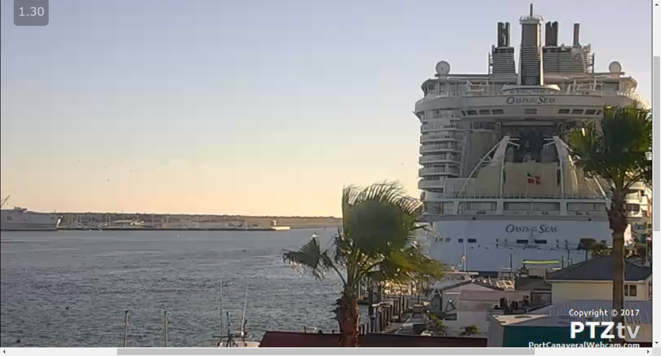 Port Canaveral Webcam A Cape Canaveral Cruise Ship Web Cam - Cruise ship web cams