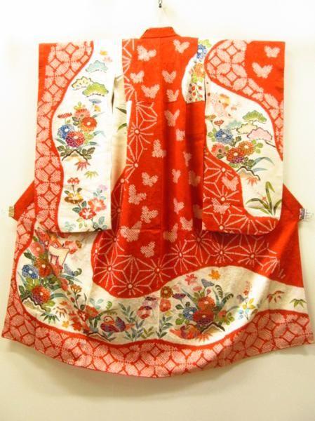 Gorgeous kimono for a little girl