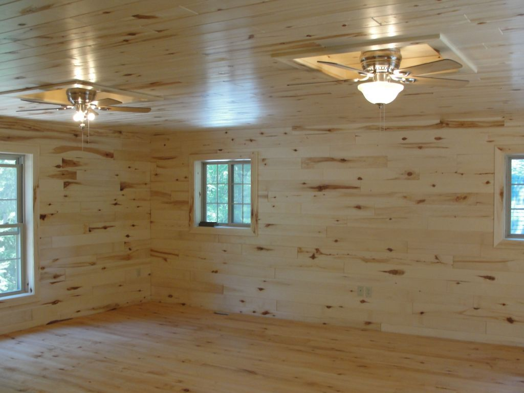 Knotty Pine Paneling Tongue Groove Woodhaven Log