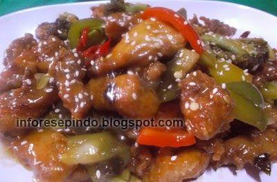 Ayam Fillet Saus Teriyaki Resep Masakan Indonesia Food Cooking Indonesian Food