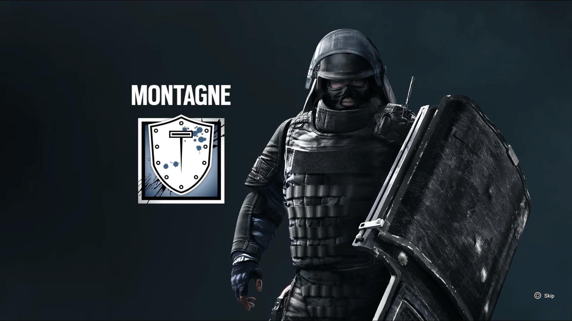 Rainbow 6 Siege Decembre 2015 Operateur Montagne Games Six
