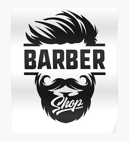 Barber Posters | Redbubble