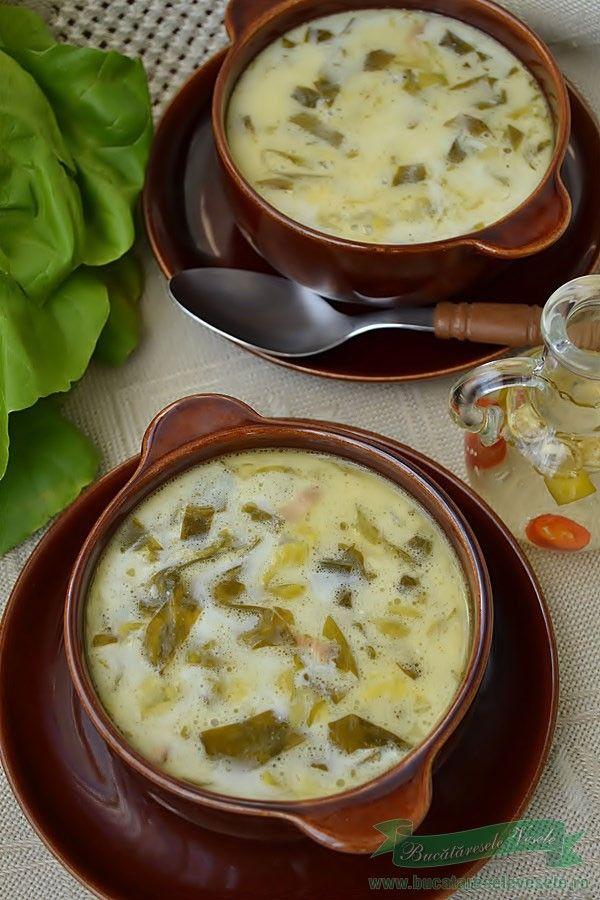 Preparare Supa De Salata Verde Cea Mai Buna Supa De Salata Verde Supa De Salata Cooking Recipes Diy Food Recipes Food Wishes