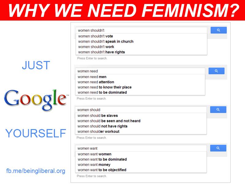 Why we need feminism.