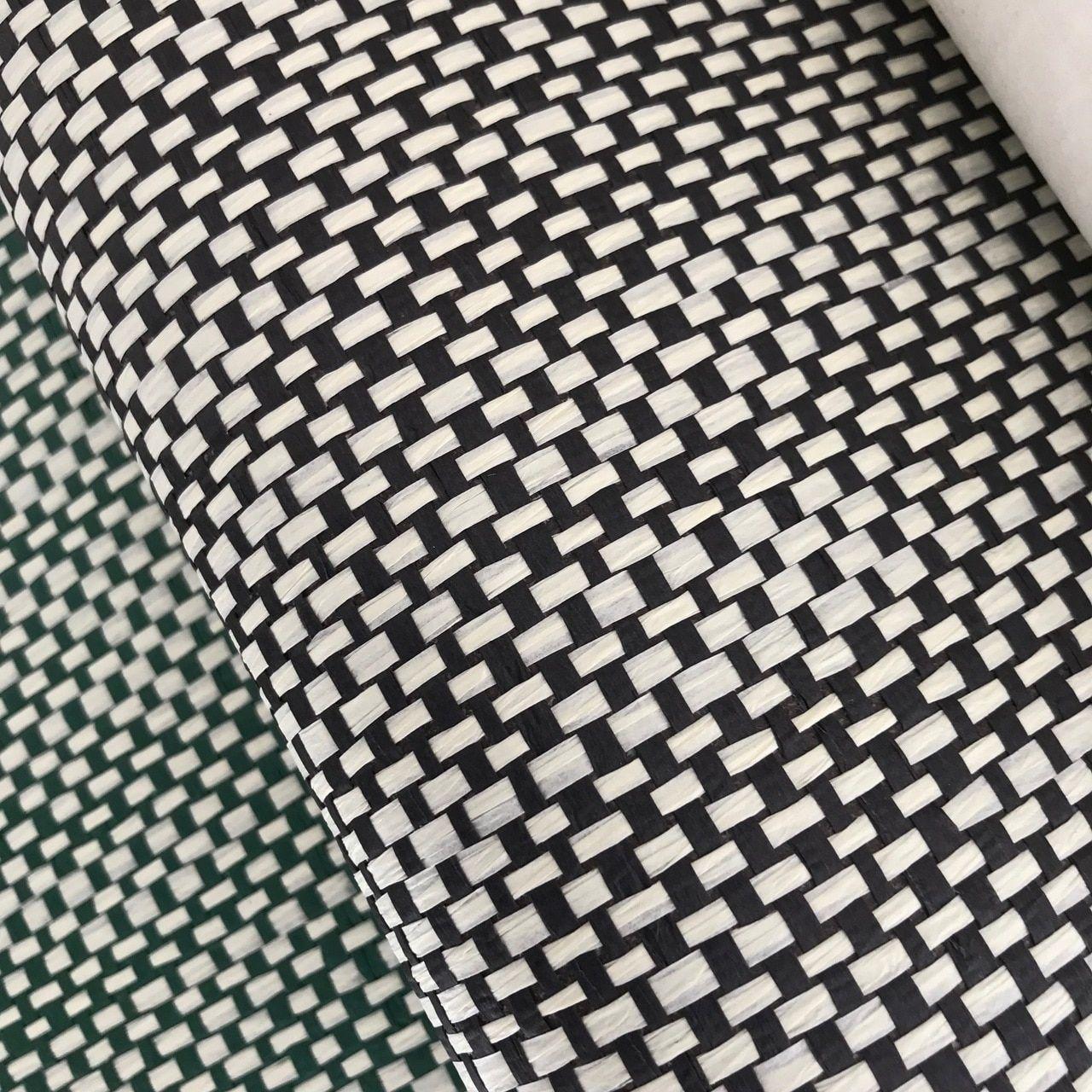 Wicker weave black Wicker, Grasscloth wallpaper, Weaving
