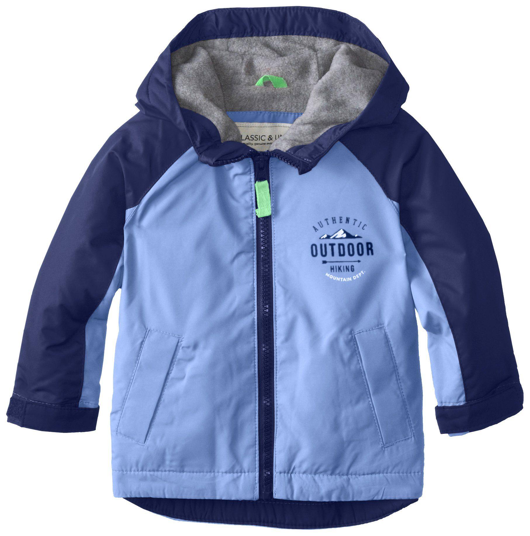 Amazon.com  Carter s Baby Boys  Fleece Lined Color Block Jacket  Clothing 5c6e961ee