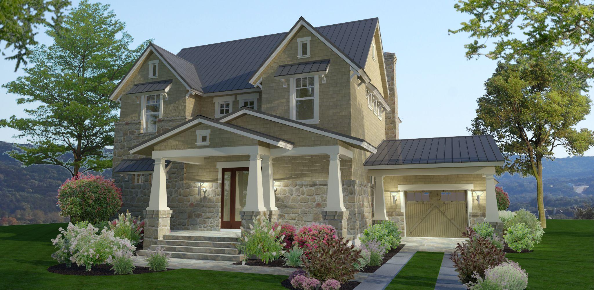 Plan 16891wg 3 bedroom stone farmhouse plan