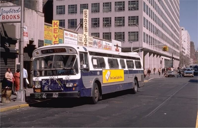 Nyc 1980s Photos Nyc Buses Vintage Photos 1970s 1980s