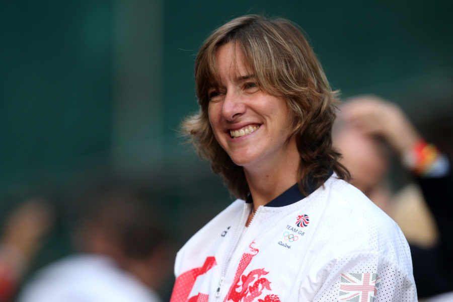 Rowing star Dame Katherine Grainger