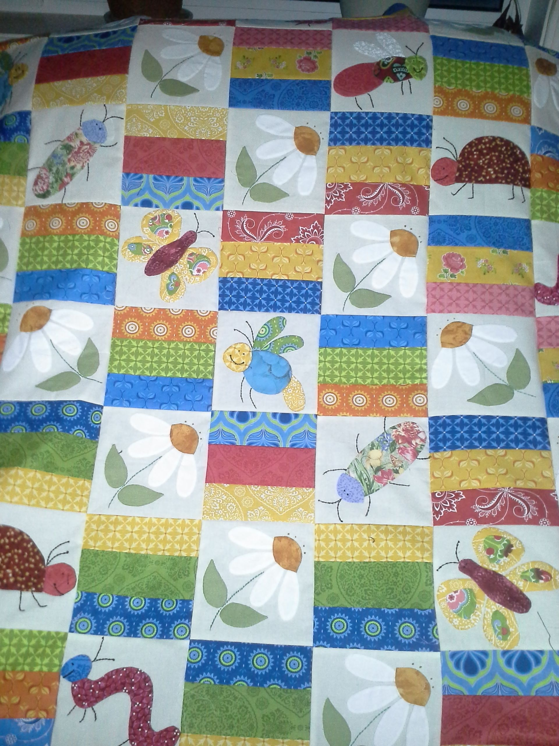 Latest project - yet to be quilted