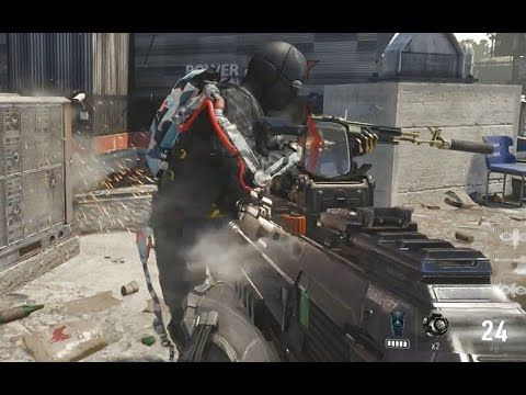 Call Of Duty Advanced Warfare Heavy Shield Gameplay