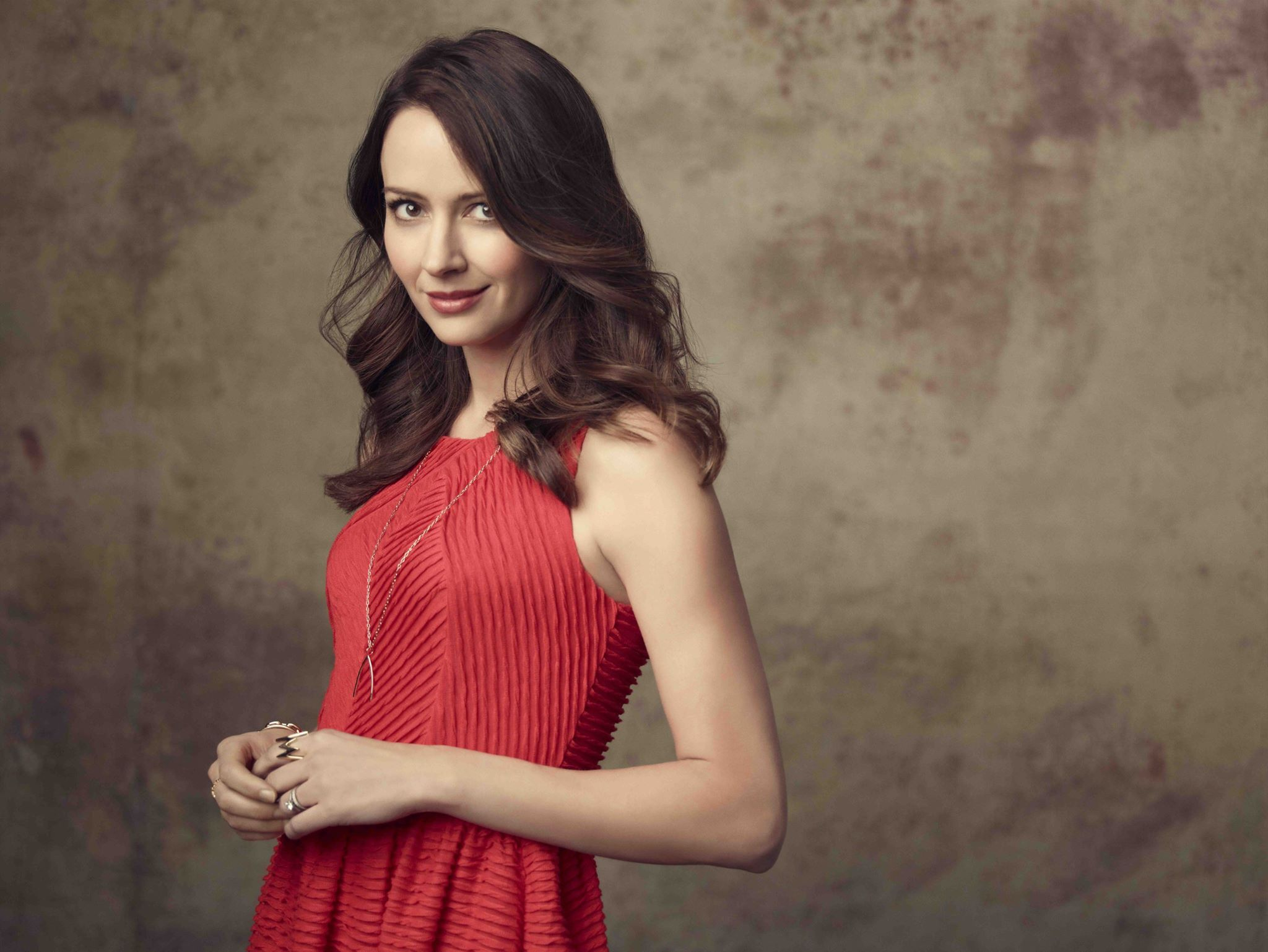 """Amy Acker (Samantha """"Root Groves) Promoting """"Person of ..."""