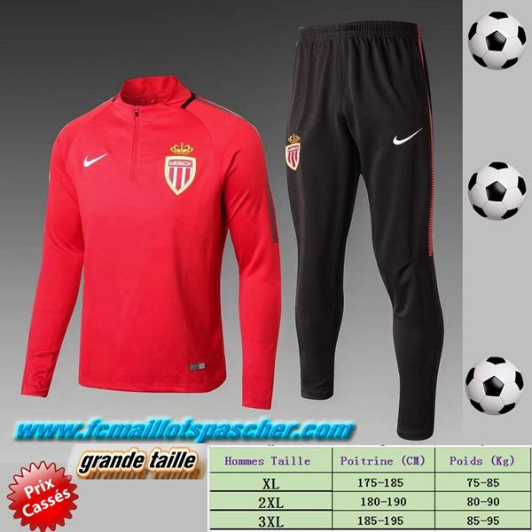 ensemble de foot AS Monaco Homme