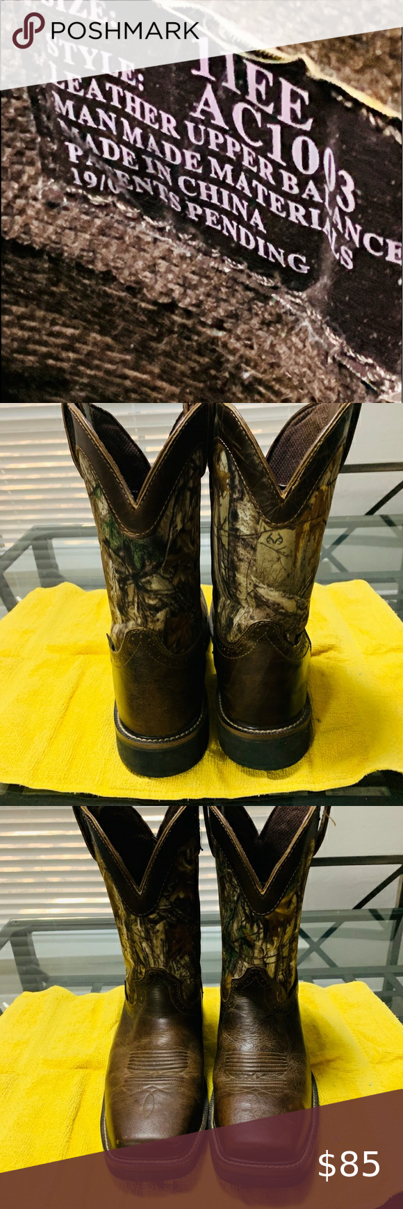 Work Boots Justin 11ee Steel Toe And Water Proof Work Boots In Excellent Condition Justin Boots Shoes Heeled Boots In 2020 Boots Work Boots Justin Boots
