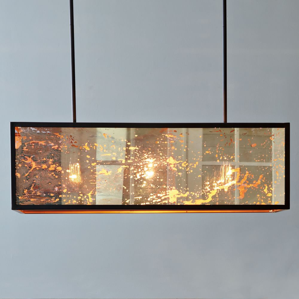 Panorama chandelier flushmount client s new dining room panorama chandelier flushmount arubaitofo Choice Image