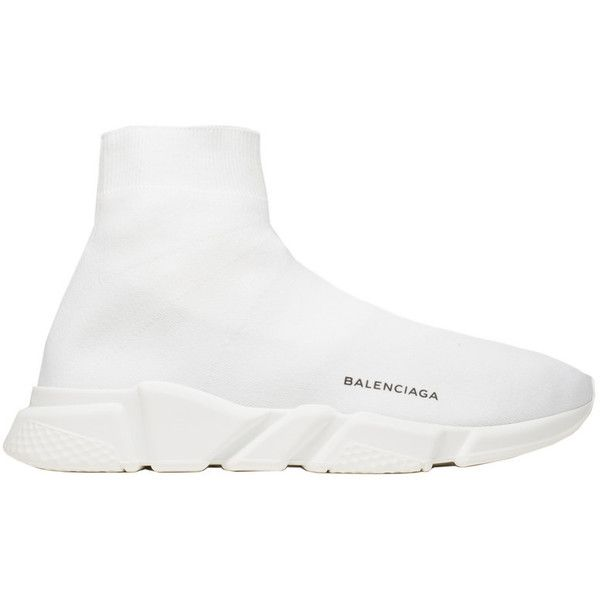cheap sale excellent quality sells Balenciaga Speed Trainer ($545) ❤ liked on Polyvore ...