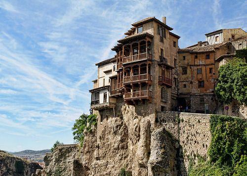 Casas Colgadas, Cuenca, Spain Instagram, Iberia, Castle