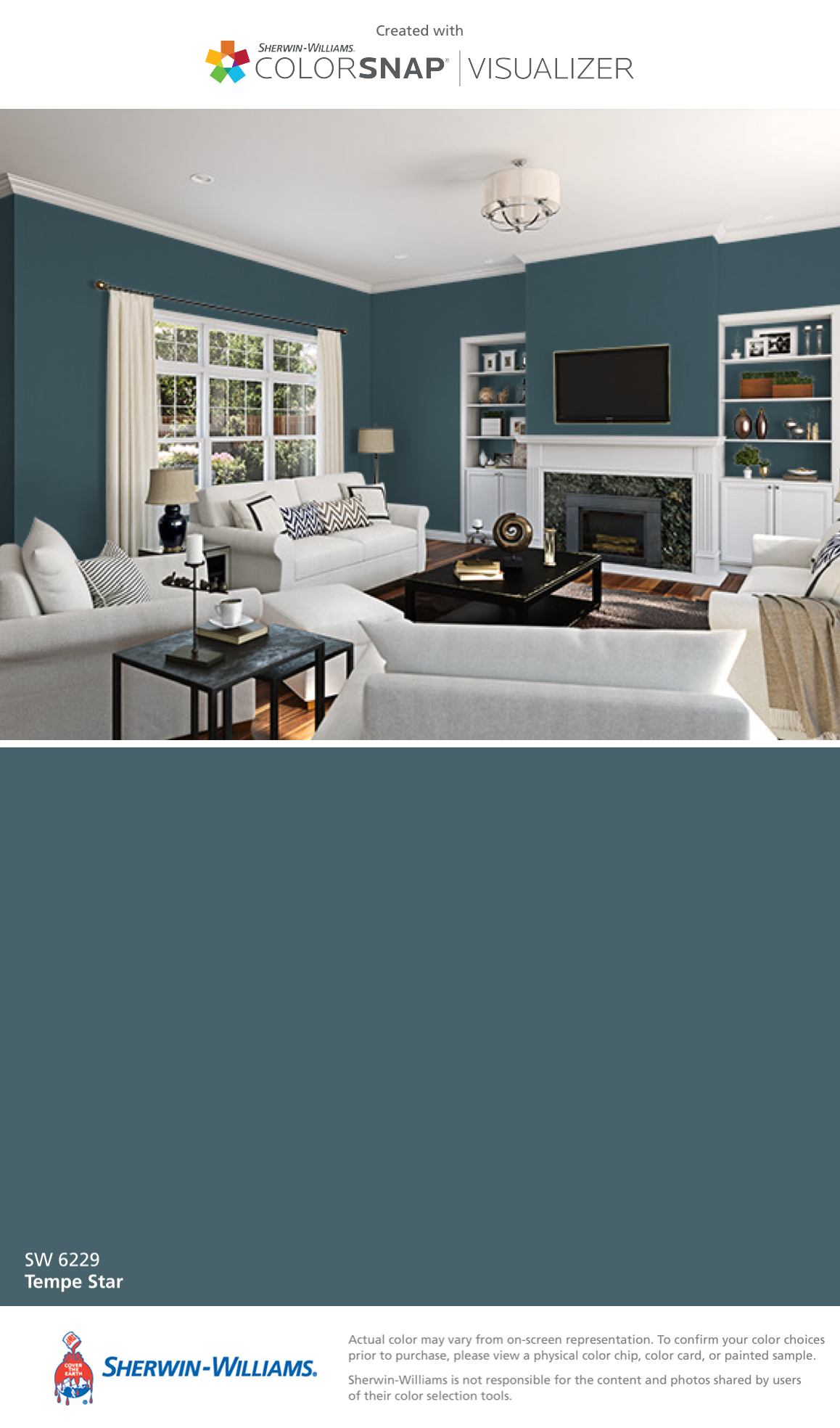 I Found This Color With Colorsnap Visualizer For Iphone By Sherwin Williams Tempe Star Sherwin Williams Paint Colors Room Paint Colors Paint Colors For Home