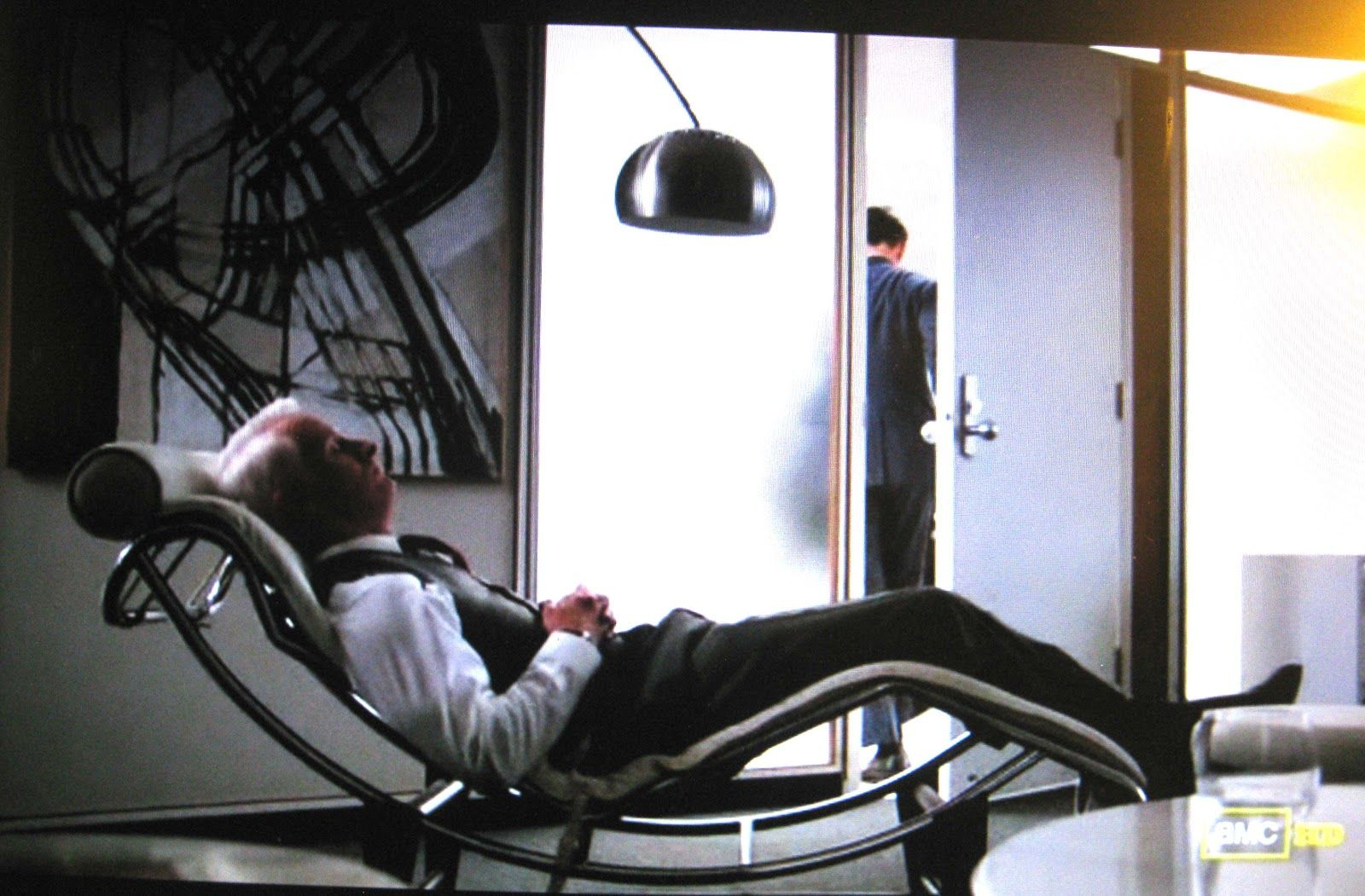 chaise longue le corbusier and mad men on pinterest art roger sterling office