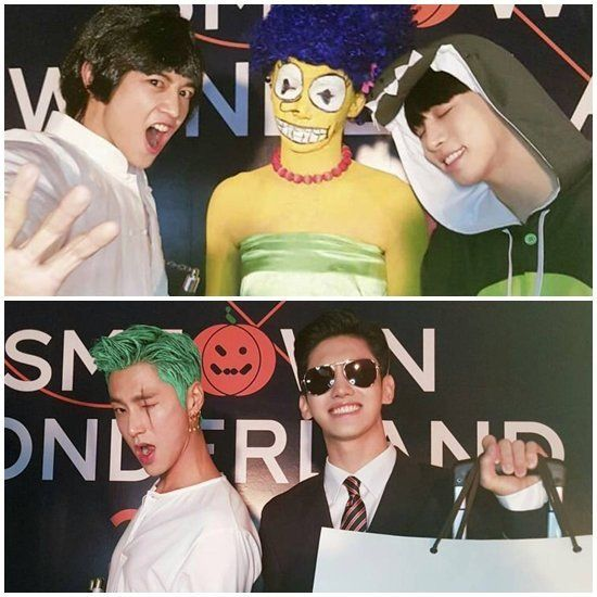 SM Entertainment reveals costumes from Halloween party ...