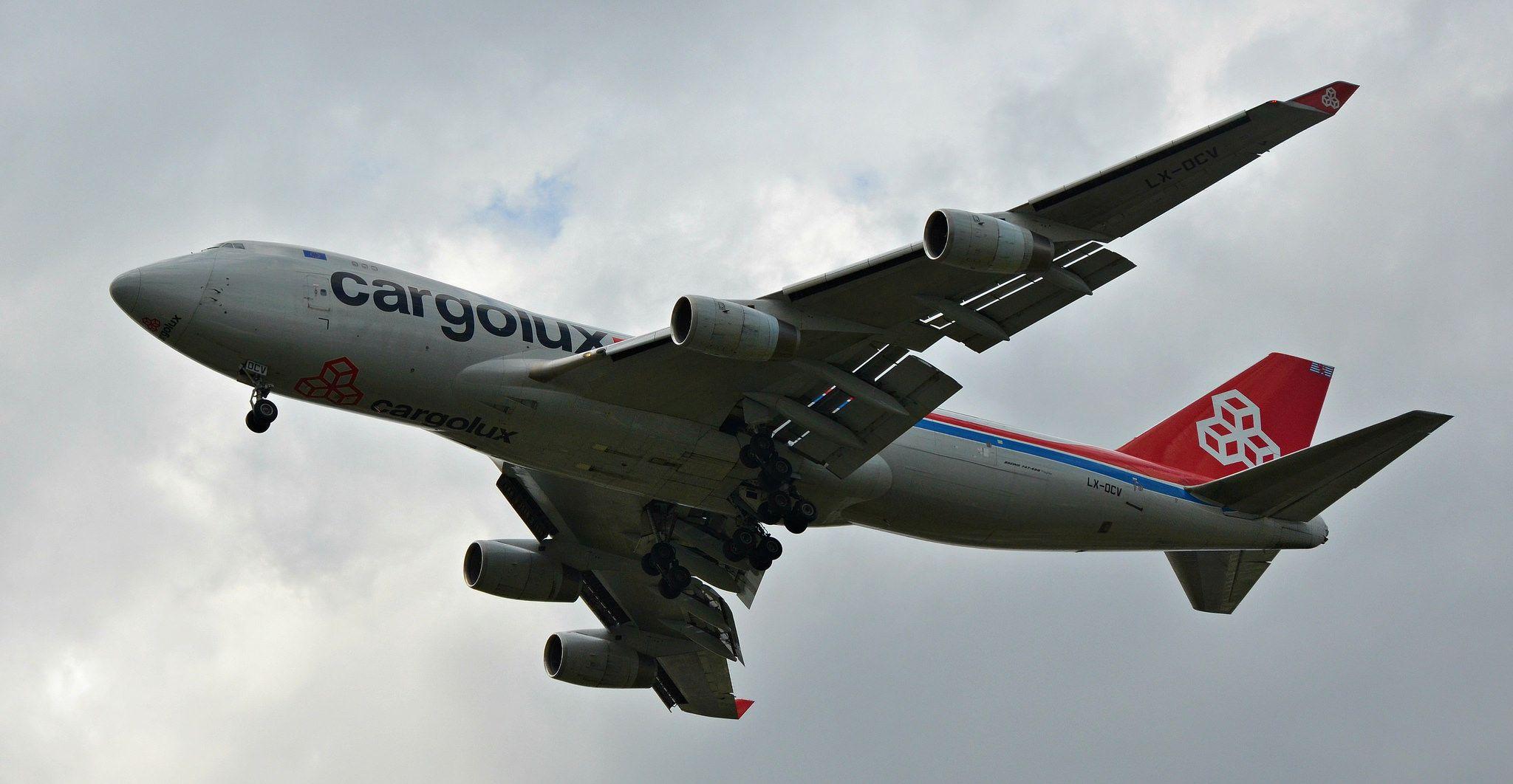 LXOCV Cargolux Airlines International Boeing 747