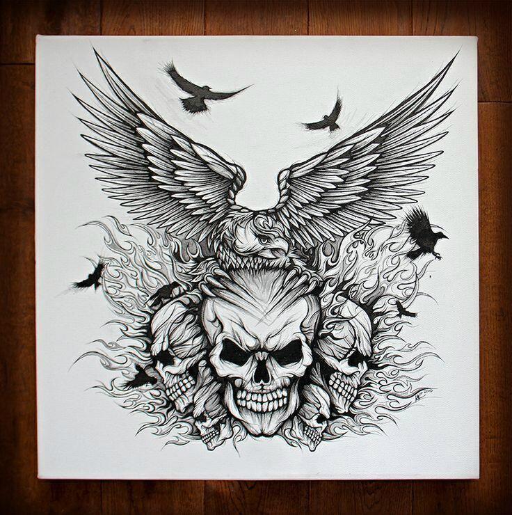 Twitter In 2020 Skull Tattoo Design Skull Coloring Pages Skulls Drawing