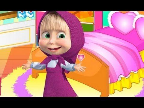ماشا والدب تنظيف غرفة ماشا العاب كرتون ماشا والدب للاطفال Disney Characters Cartoon Character