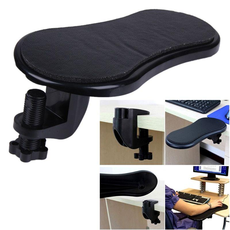 Attachable Armrest Pad Desk Computer Table Arm Support Mouse Pads Arm In 2020 Wrist Rest Computer Desk Mat Pc Computer