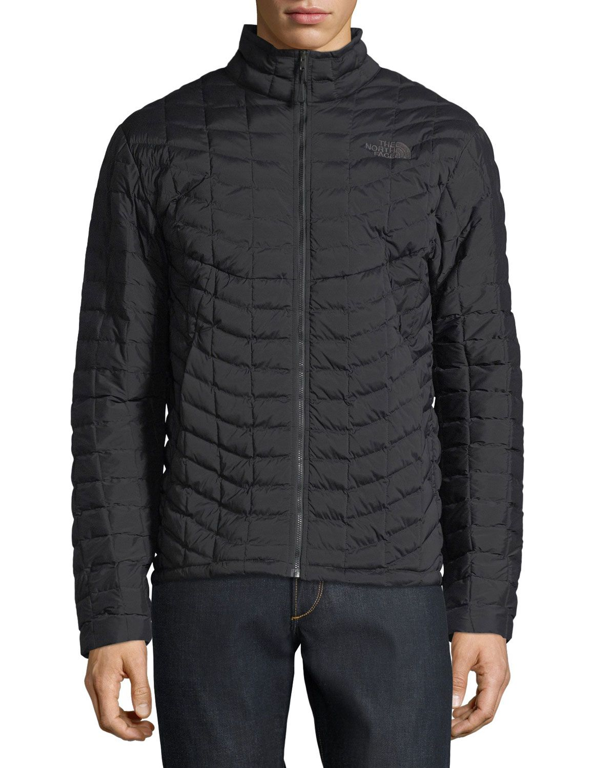 0b08d18e84 Stretch ThermoBall Jacket Black | Products | Jackets, The north face ...