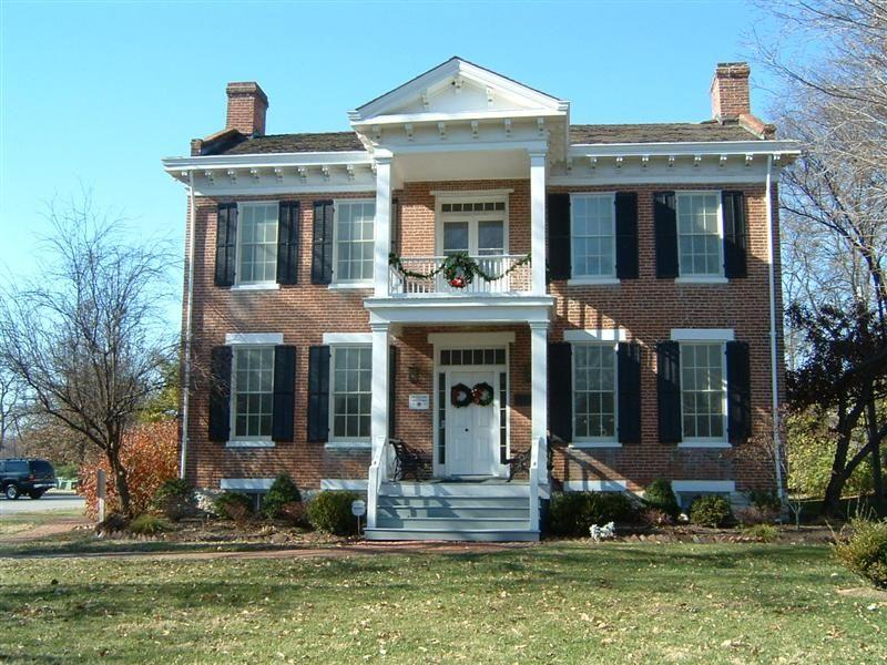 Historic Christopher Hawken House Historic Homes Webster Groves House