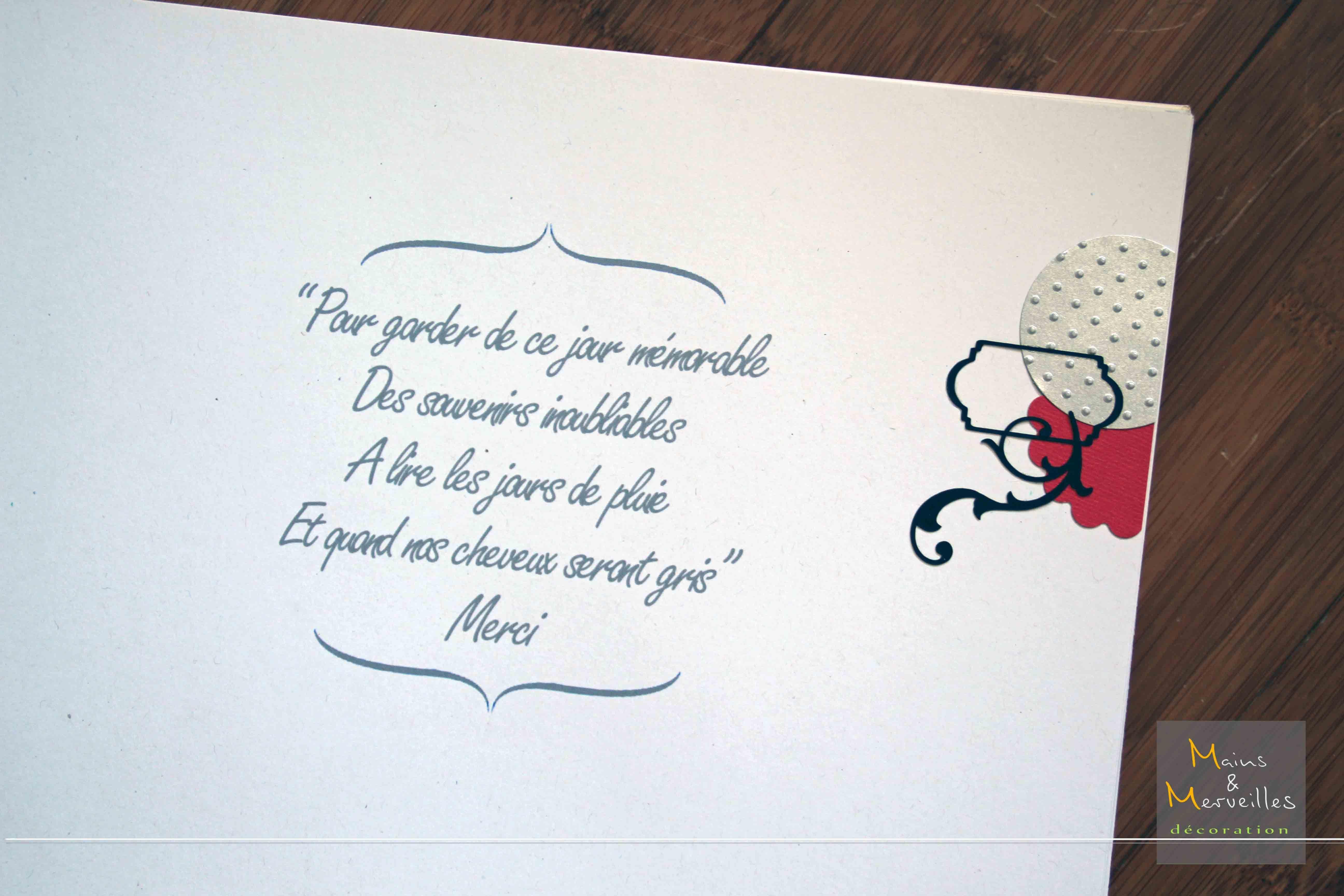 Message d 39 accueil livre d or mariage animation - Mot livre d or mariage ...