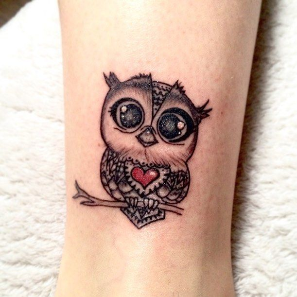 50 Of The Most Beautiful Owl Tattoo Designs And Their Meaning For The Nocturnal Animal In You Kickass Things Cute Owl Tattoo Tattoo Designs Owl Tattoo Small