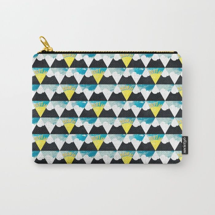 Premium Artwork Society6 Surface Pattern Design Pattern Design Zip Around Wallet
