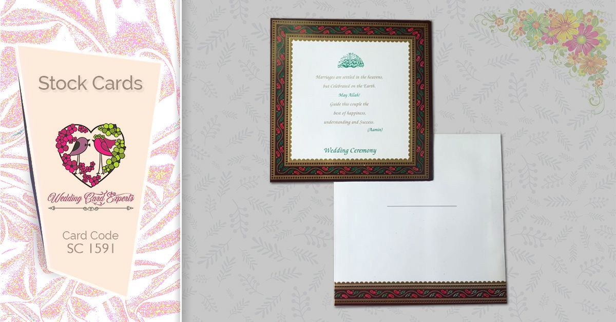 wedding card experts is coming up with vast variety of