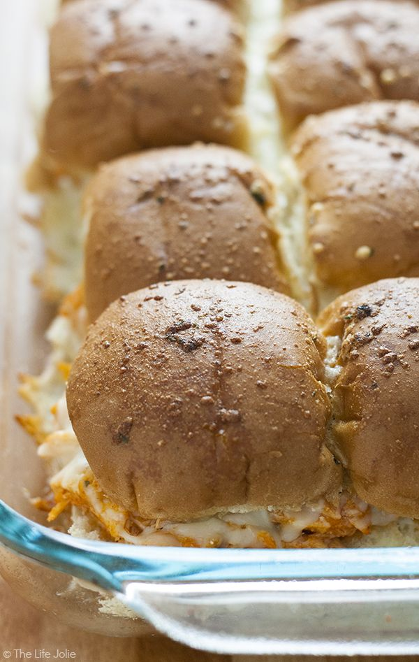 recipe: easy buffalo chicken sliders [25]