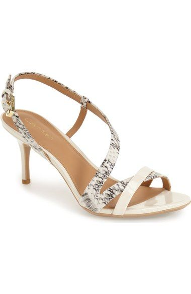Calvin Klein Lorren Leather Sandal Women Available At Nordstrom