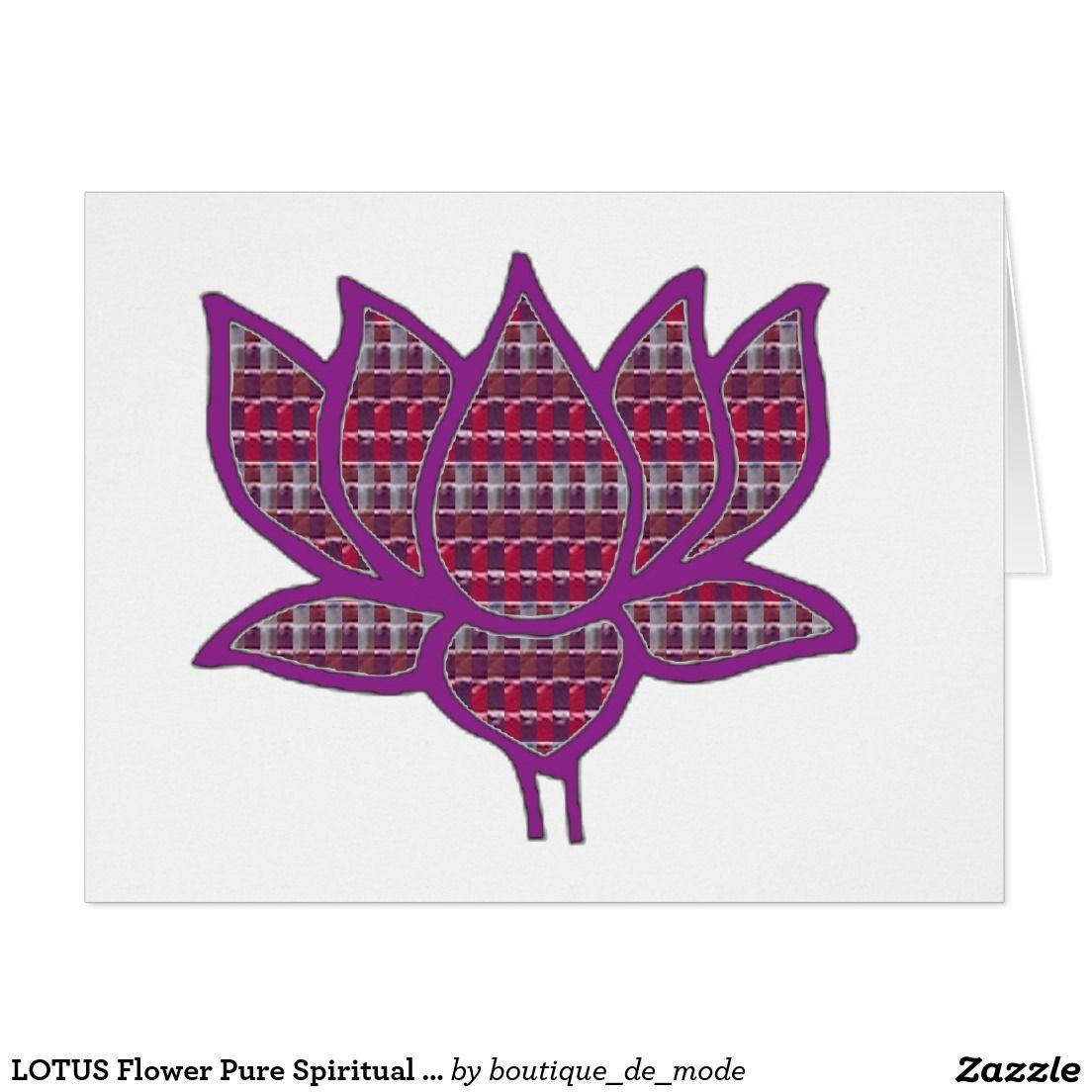 Lotus flower pure spiritual symbol peach nvn661 card 101 zazzle lotus flower pure spiritual symbol peach nvn661 card mightylinksfo