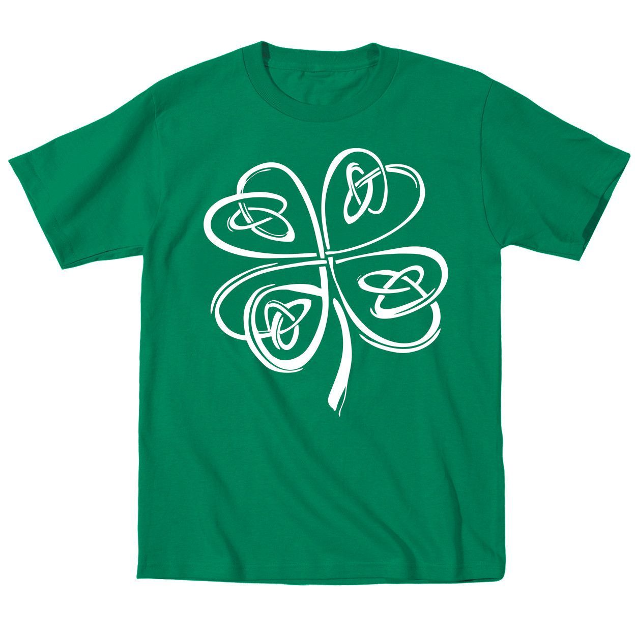 Irish Shamrock Clover Kids Infant T-Shirt