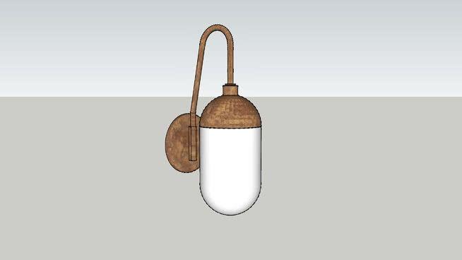 #light #marked001 #wall_light   West elm, Wall lights, Light