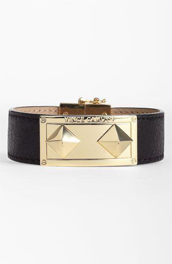 Vince Camuto Studded Leather Wrap Bracelet