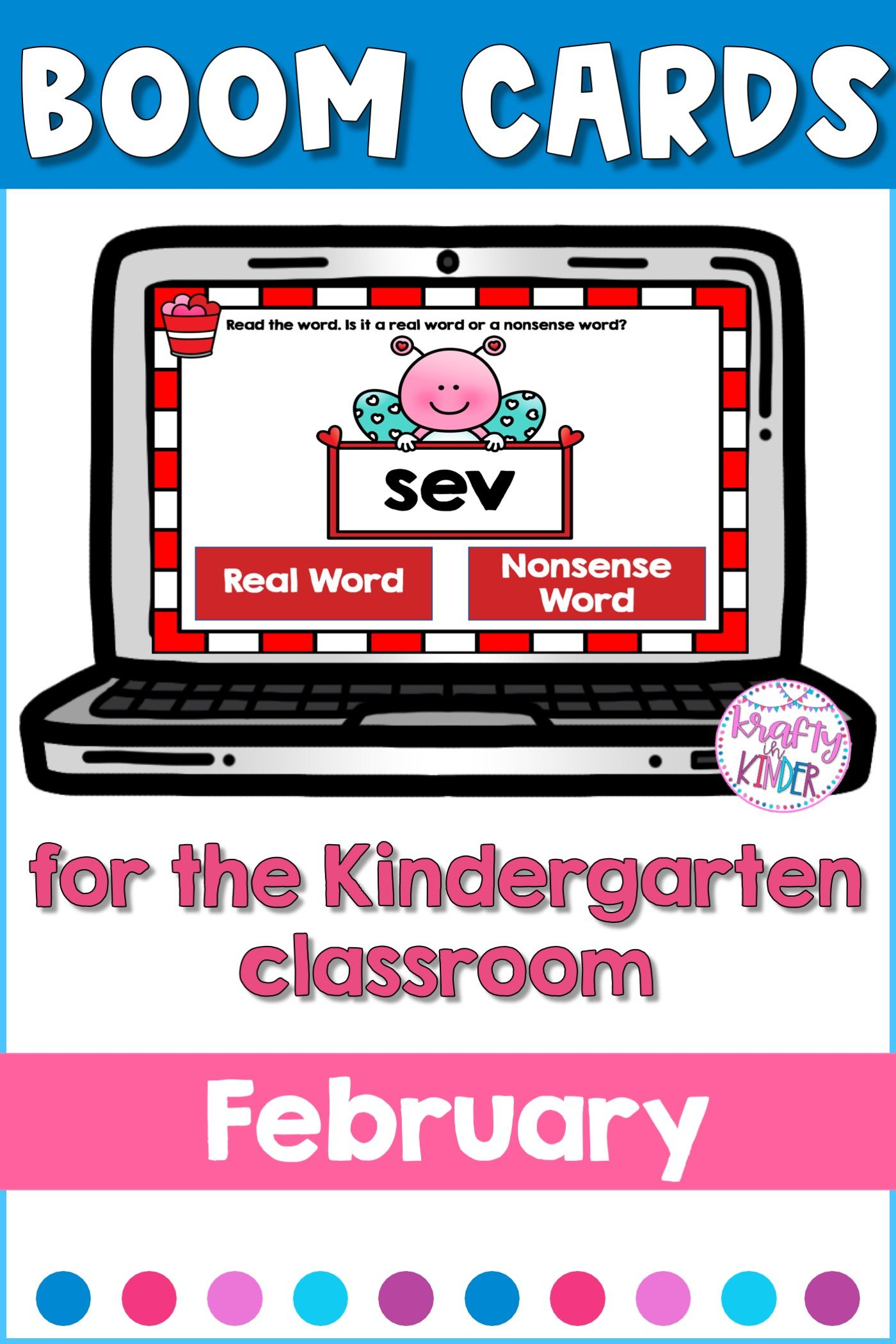 Nonsense Word Fluency Practice For February In