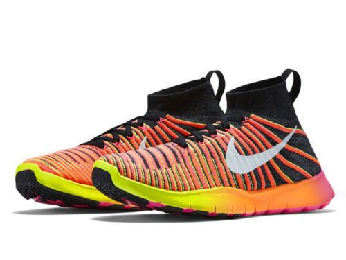 Nike Free TR Force Flyknit Mens Training Shoes 11.5 Multi-Color 833275 999 RIO #Nike #RunningCrossTraining