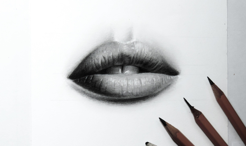 Desenhando Boca Realista How To Draw A Realistic Mouth