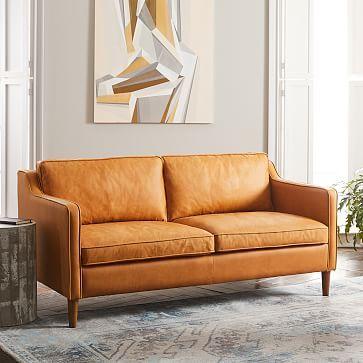 Hamilton Leather Loveseat 56 Quot Leather Loveseat Leather Sofa Hamilton Sofa