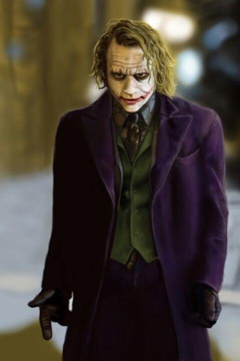 The Joker Batman El Caballero De La Noche Joker Batman