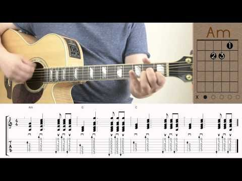 The Lumineers Ho Hey Guitar Lesson Tutorial Chords How To