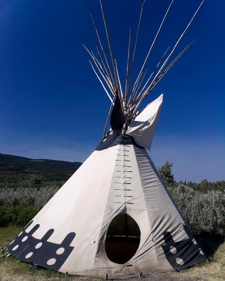Blackfeet Indian Teepee Photograph - Blackfeet Indian Teepee Fine Art Print & Blackfeet Indian Teepee Photograph - Blackfeet Indian Teepee Fine ...