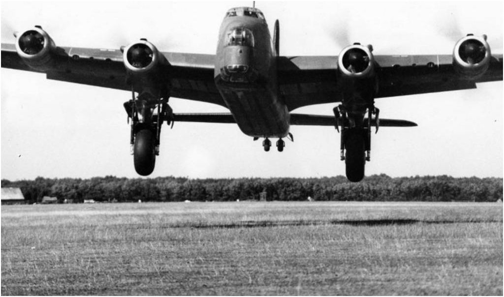 Short Stirling take off